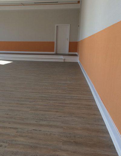 Design Vinylboden und Malerarbeiten Speisesaal in Schkopau